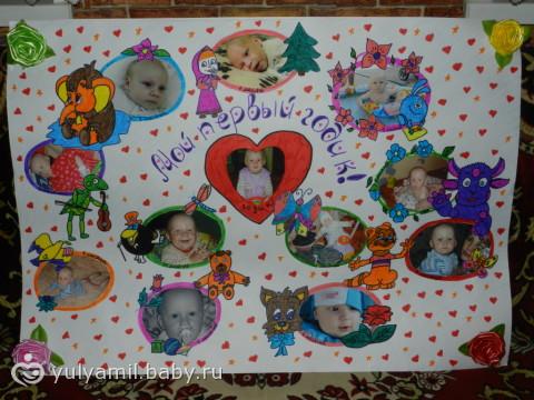 Фотоплакаты своими руками детям